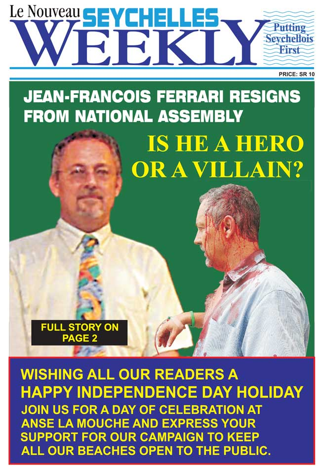 Seychelles weekly for Farcical waste of time